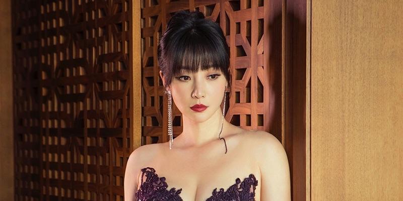 中国美女柳岩のドレス写真がセクシーすぎる_その2